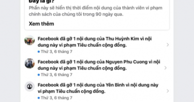"""Facebook có đang lợi dụng """"tiêu chuẩn cộng đồng""""!"""